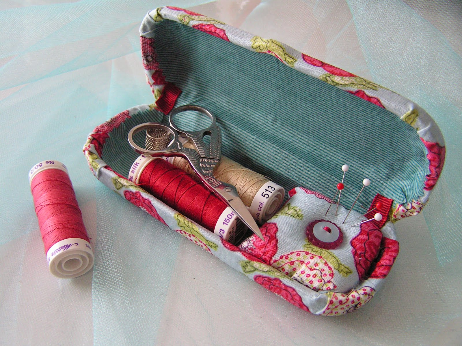 Eye Glass Case to Sewing Kit