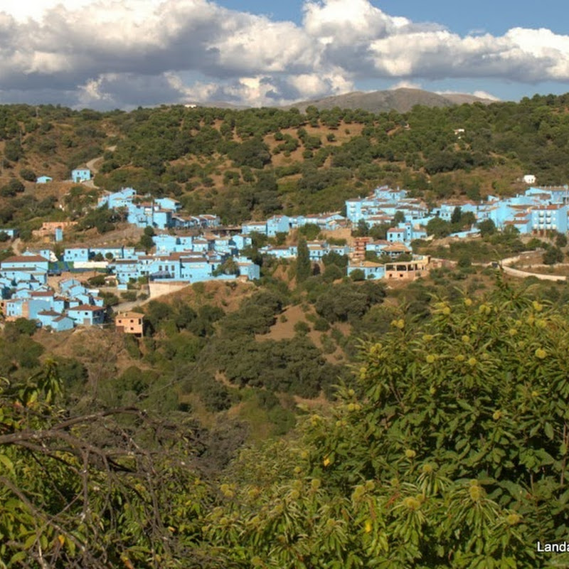 Juzcar, The Spanish Village That Painted Itself Blue