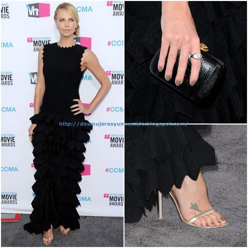 Charlize Theron arrives at the 17th Annual Critics' Choice Movie Awards-1