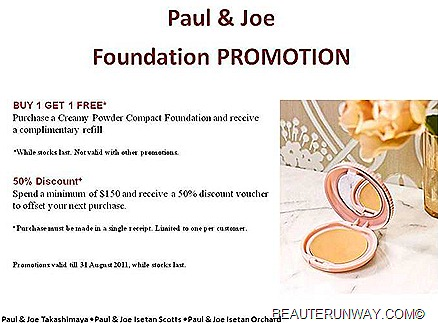Paul & Joe Foundation Sale