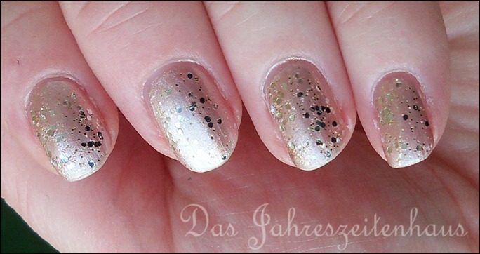 Silvester Nageldesign Champagner Nails 3