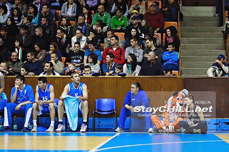 Ionela & Tigirs / BC Mureș - U Mobitelco (Playoff M4), 19 aprilie 2012