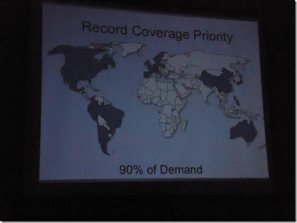 地图显示90%的家庭搜索记录优先权