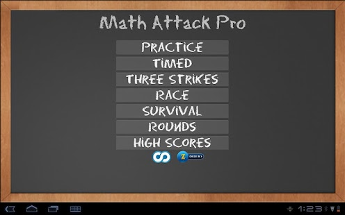 Math Attack Pro - screenshot thumbnail