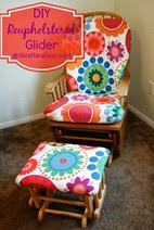 Do It Yourself Recover Glider Rocker37