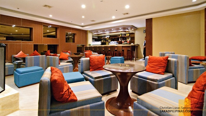 Lounge Area at Baguio City's Azalea Residences