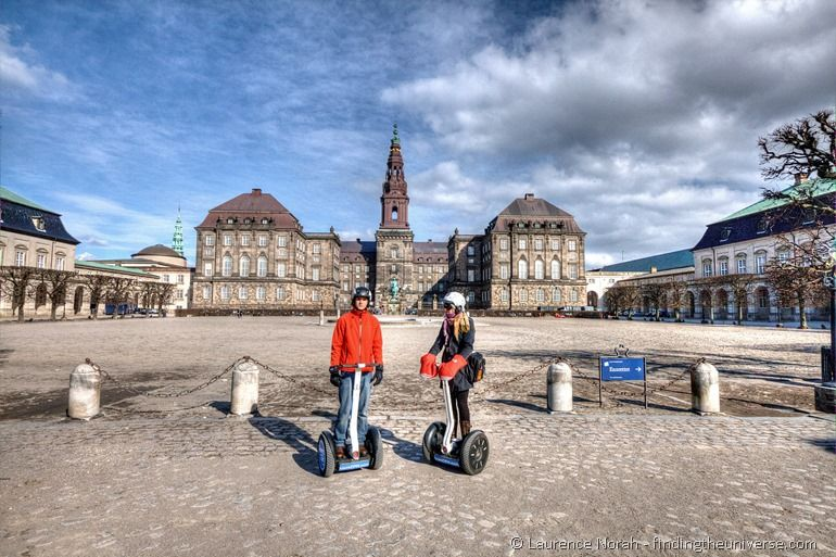 Vera and Sam Segway tour Copenhagen