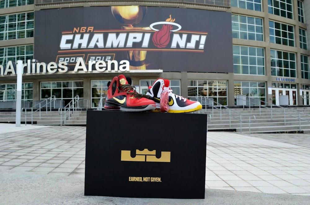 2d827881f9b5 Nike LeBron 9 MVP Championship Pack 8211 New Photos ...
