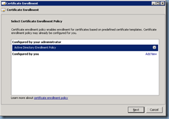 Terence Luk: Missing certificate templates while requesting