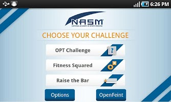 Screenshot of NASM Personal Trainer for CPT