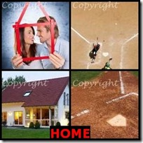HOME- 4 Pics 1 Word Answers 3 Letters