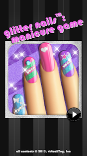 Glitter Nail Salon: Girls Game - screenshot thumbnail