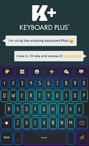 Neon Glow Keyboard