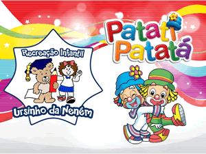 Apresentação dos palhaços Patati Patatá na escola