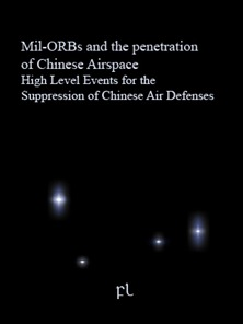 Mil-ORBs and the penetration of Chinese Airspace High Level Events for the Suppression of Chinese Air Defenses Cover