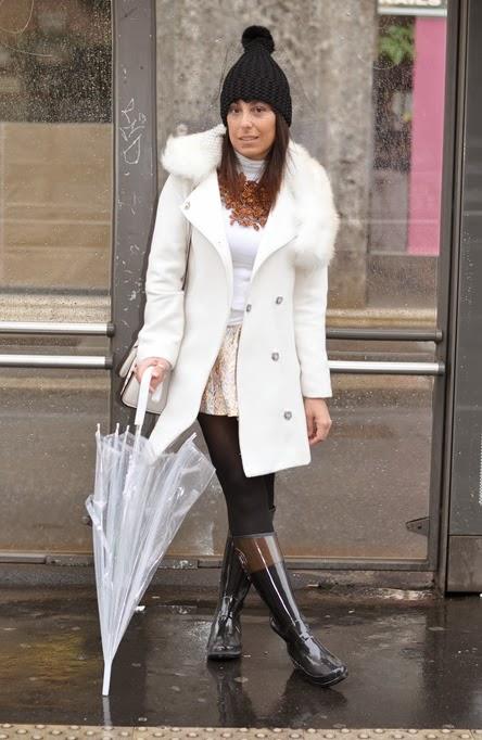 outfit, ottaviani necklace, ombrello trasparente, michael kors bag, italian fashion bloggers, fashion bloggers, street style, zagufashion, valentina coco, i migliori fashion blogger italiani