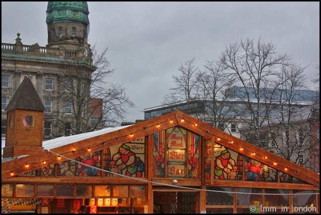 The Merry Monk Bier Bar at Belfast Christmas Market