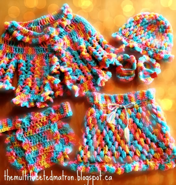 Baby Puff Stitch Set