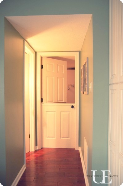 DIY dutch door