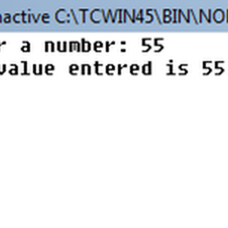 How to convert string to integer in C - Block Of Codes