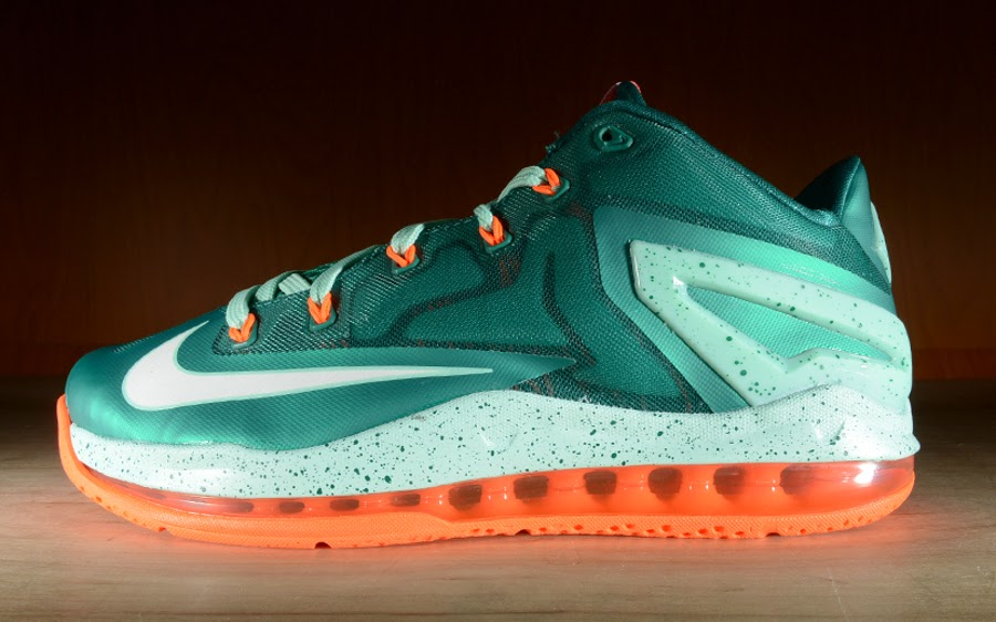 67416bf7d1b8 Release Reminder Nike Max LeBron 11 Low 8220Mystic Green8221 ...