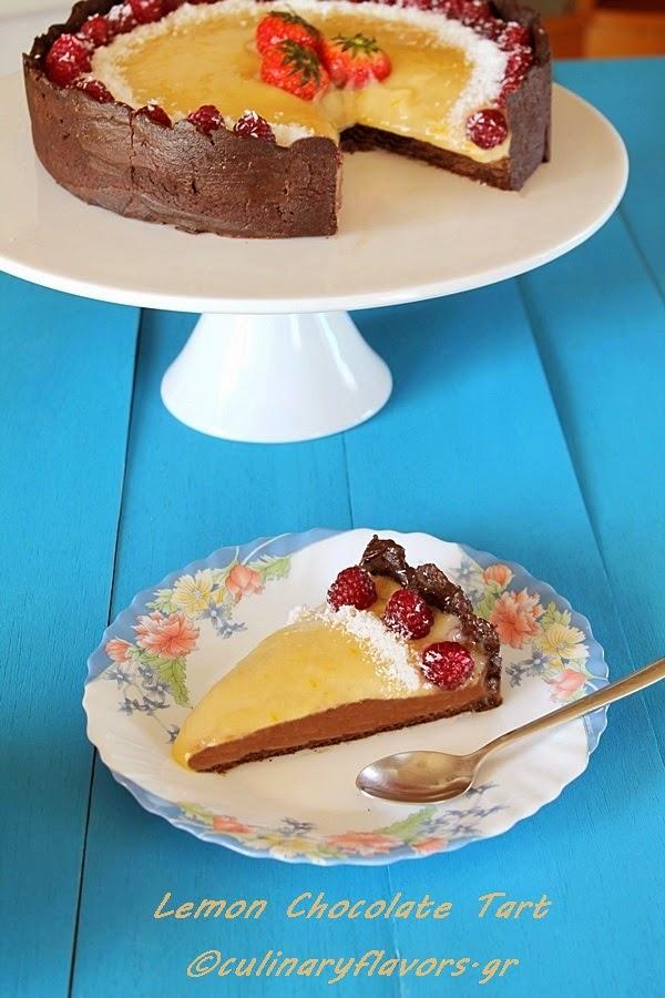 Lemon Chocolate Tart.JPG