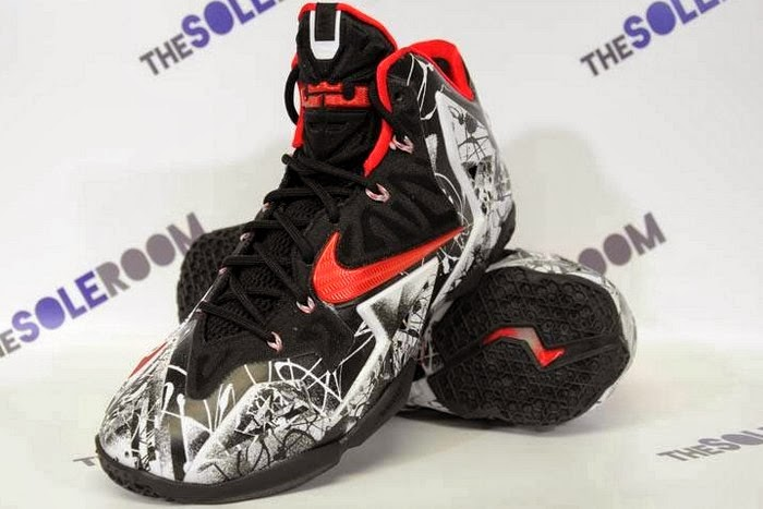 4aa5a3300464 Nike LeBron XI 8220Home8221 Graffiti Official Release Date ...