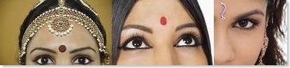 Bindi shapes