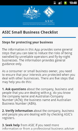 【免費商業App】ASIC Business Checks-APP點子