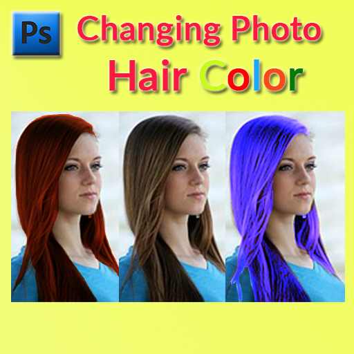 Changing Photo Hair Colour