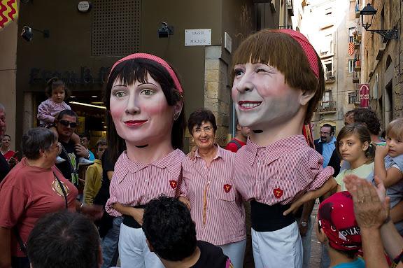 Dia 23, anada a ofici. Festes de Santa Tecla. Tarragona, Tarragonès, Tarragona