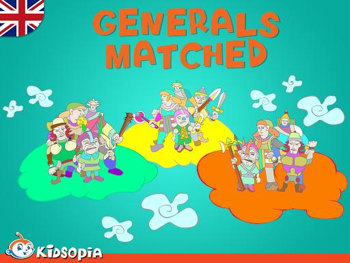 Generals Matched
