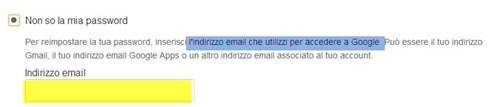 inserire-indirizzo-email