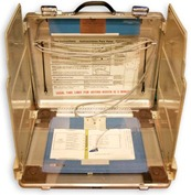 Early voting machine