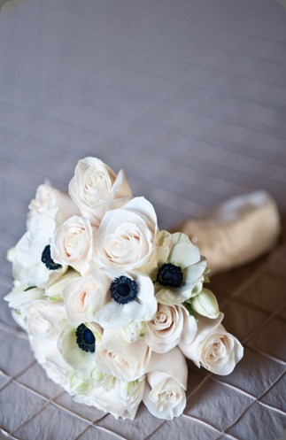 White-Roses-and-White-Anemones-bouquet-681x1024 exquisite designs