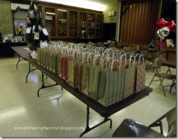 Christmas Card Making day 2012_goodie bags ready to go