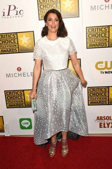 Bellamy Young Arrivals Critics Choice Television Awards
