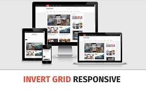 Template Invert Grid - Responsive dạng lưới cực đẹp