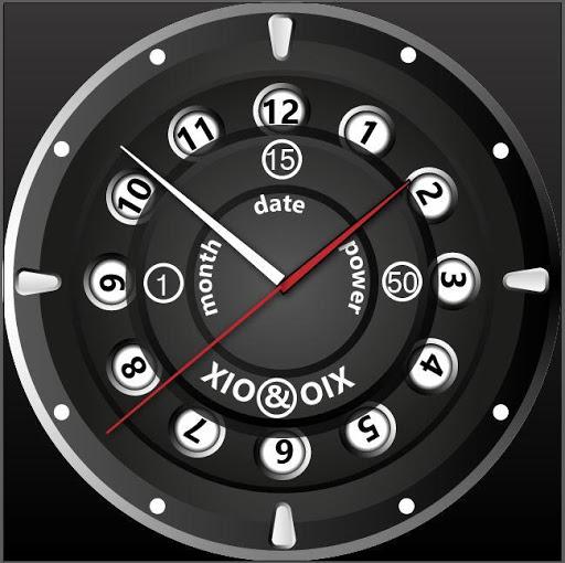 XIO OIX Watchface for Wear