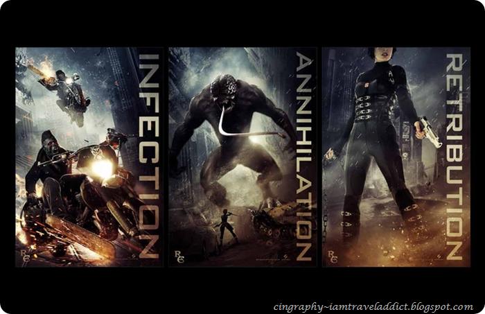 Movie Review Resident Evil Retribution 2012 Cindy S Planet