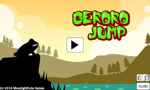 Geroro the Frog Jump Challenge