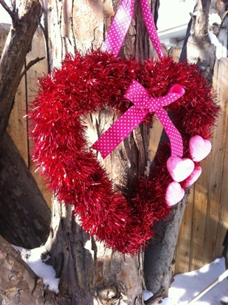 valentine (garland) wreath
