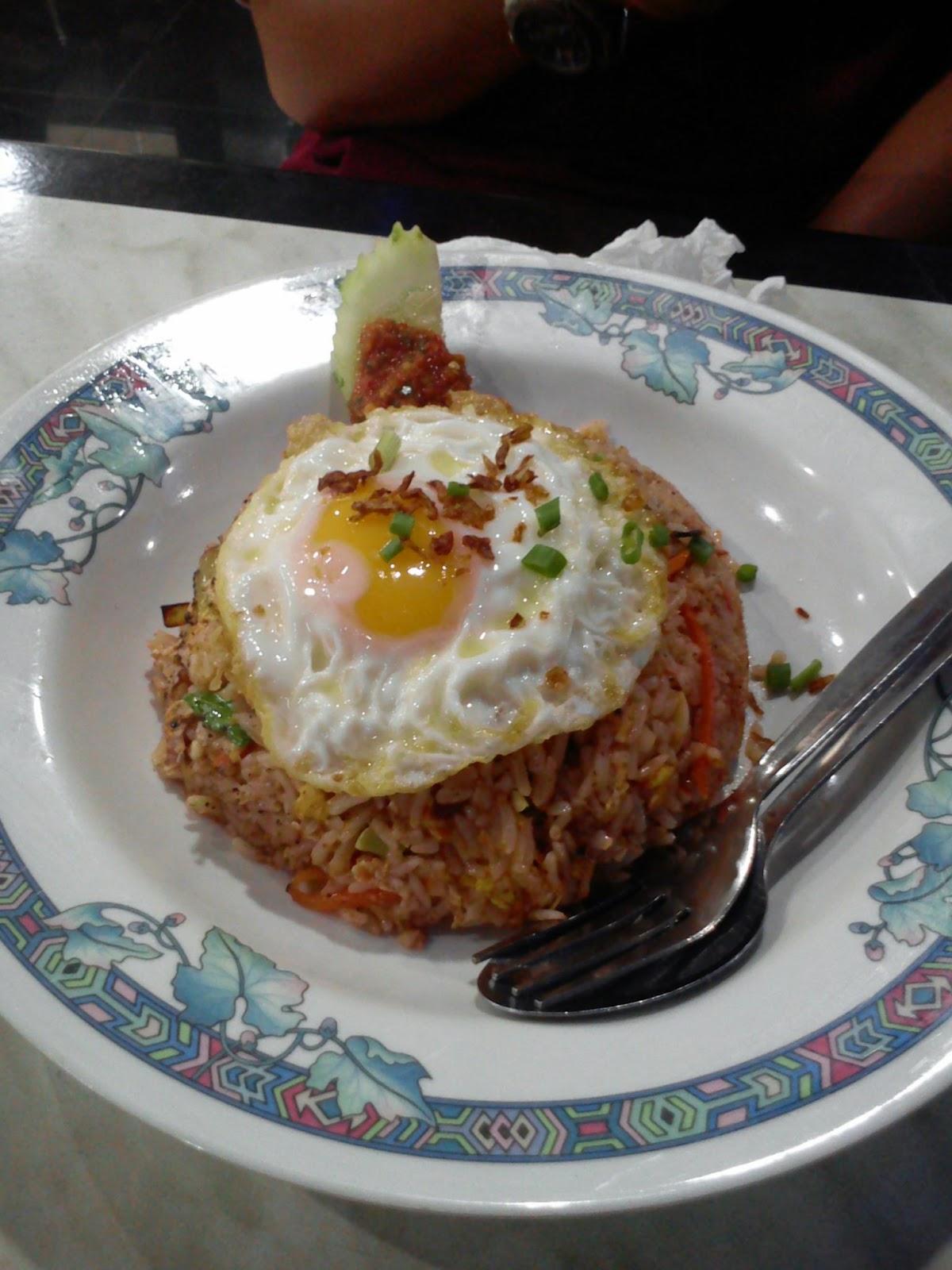 Celoteh Izan: Nasi goreng daging rusa.