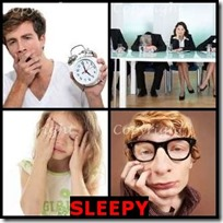 SLEEPY- 4 Pics 1 Word Answers 3 Letters