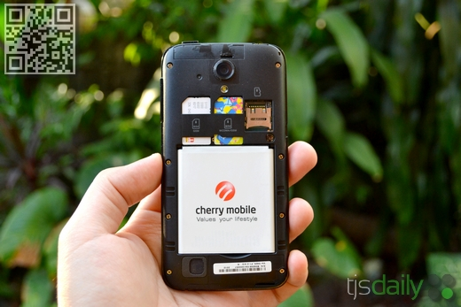 Cherry Mobile Flame Review battery