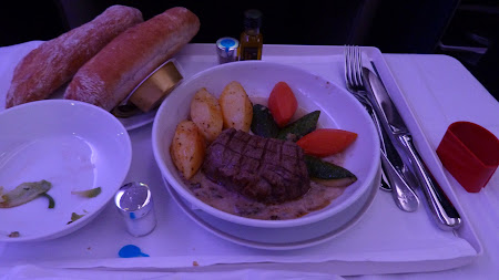 Airbus A380 Air France: felul principal business class