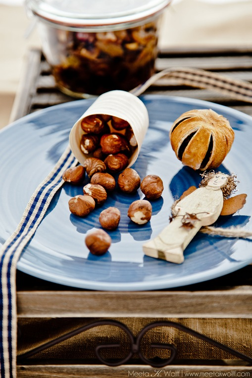 Quince Hazelnut and Cognac Mincemeat (0389) by Meeta K. Wolff