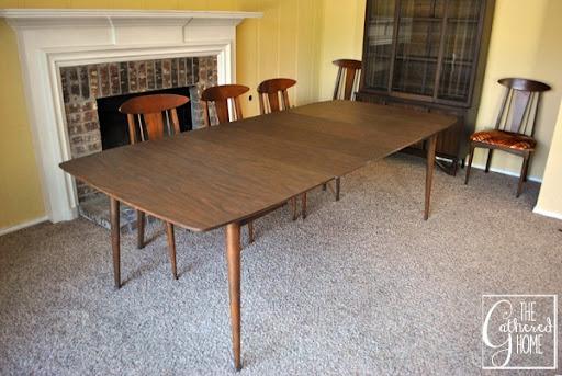 mid century dining set 4