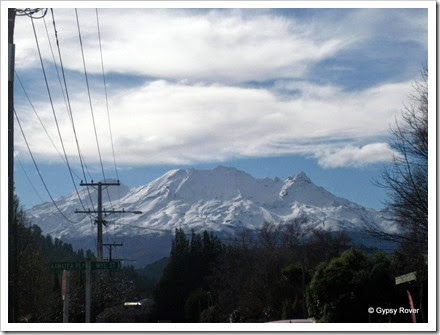 Mount Ruapehu from Ohakune