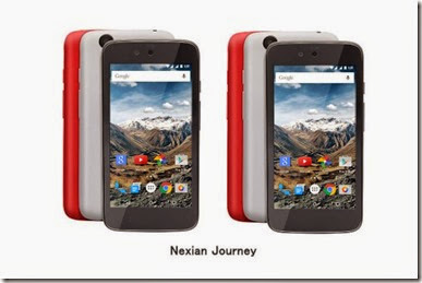 Nexian Journey One Laris, 8000 Unit Ludes Dipesan
